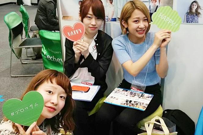 4月18日(火)ベルサール渋谷ガーデンで就職フェアに参加しました♪