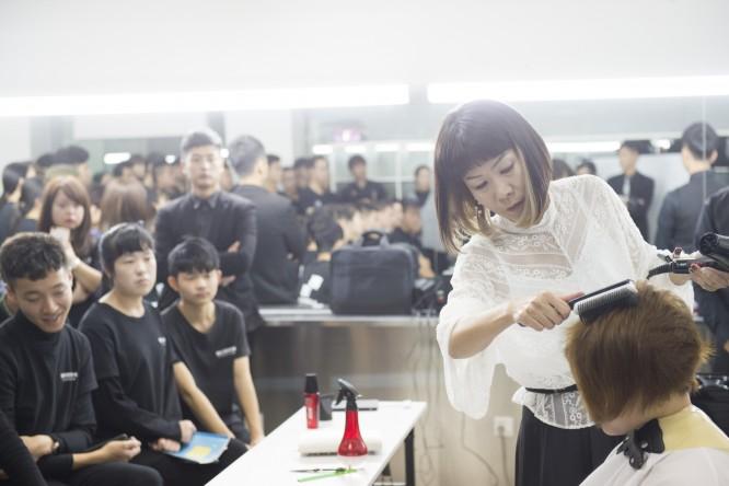 中国大連でブロッサムアカデミーが講習をおこないました/美容室ブロッサム