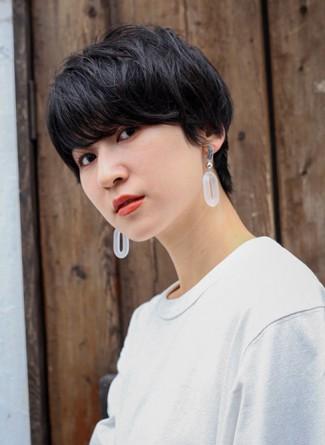 ウザバング×黒髪×ショート